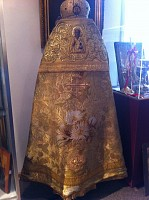 Vestment of Mitred Archpriest Joseph Dankevich in the Metropolitans Museum at St. Tikhon's Monastery